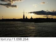 Петропавловская крепость (2009 год). Стоковое фото, фотограф Виктор Агеев / Фотобанк Лори