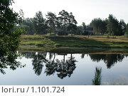 Купить «Река Чагодоща», фото № 1101724, снято 14 августа 2009 г. (c) Удодов Алексей / Фотобанк Лори