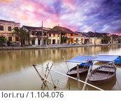 Вид на старый город. Хойан. Вьетнам (2009 год). Стоковое фото, фотограф Ольга Хорошунова / Фотобанк Лори