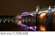 Ночной мост (2009 год). Редакционное фото, фотограф Дмитрий Урюпин / Фотобанк Лори