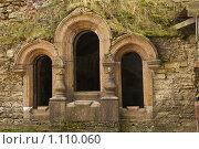Купить «Часть стены крепости Копорье», фото № 1110060, снято 22 сентября 2009 г. (c) Egorius / Фотобанк Лори