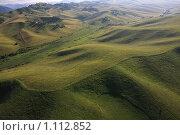Купить «Алтай с высоты птичьего полета», фото № 1112852, снято 26 июля 2009 г. (c) Юлия Машкова / Фотобанк Лори