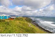 Купить «Южное побережье острова Кунашир. Курилы», фото № 1122792, снято 20 сентября 2009 г. (c) RedTC / Фотобанк Лори