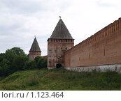 Купить «Крепостная стена. г.Смоленск», фото № 1123464, снято 24 сентября 2018 г. (c) Примак Полина / Фотобанк Лори