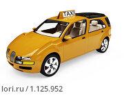 Купить «Такси будущего», иллюстрация № 1125952 (c) ИЛ / Фотобанк Лори