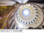 Купить «Свод в Храме Гроба Господня (Израиль, Иерусалим)», фото № 1133040, снято 28 ноября 2008 г. (c) Бабенко Денис Юрьевич / Фотобанк Лори