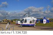 Купить «Многоцелевой вертолет КА-226», эксклюзивное фото № 1134720, снято 19 августа 2009 г. (c) Алёшина Оксана / Фотобанк Лори
