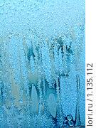 Купить «Морозный узор на стекле», фото № 1135112, снято 21 ноября 2018 г. (c) ElenArt / Фотобанк Лори