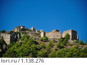 Купить «Старая крепость. Алания.», фото № 1138276, снято 24 сентября 2009 г. (c) Дмитрий Моисеевских / Фотобанк Лори