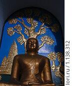 Золотой Будда. Стоковое фото, фотограф Павлов Борис / Фотобанк Лори