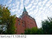 Кремлевская башня (2009 год). Стоковое фото, фотограф Чехов Дмитрий Валерьевич / Фотобанк Лори