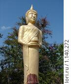 Купить «Таиланд, Паттайя, скульптура будды около буддийского храма», фото № 1140272, снято 15 марта 2009 г. (c) Елена Воронкова / Фотобанк Лори