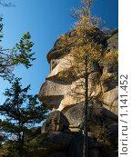 """Купить «Заповедник """"Столбы""""», фото № 1141452, снято 2 октября 2009 г. (c) Andrey M / Фотобанк Лори"""