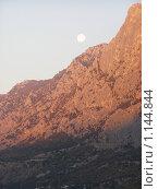 Лунное утро в Крыму. Стоковое фото, фотограф Николай Иванов / Фотобанк Лори