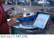 Художник. Стоковое фото, фотограф Sergey Kashchavtsev / Фотобанк Лори