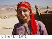 Купить «Девушка в национальном костюме», фото № 1148016, снято 22 сентября 2009 г. (c) Анна Мегеря / Фотобанк Лори