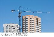 Купить «Новостройка», фото № 1149720, снято 13 октября 2009 г. (c) Олег Ивашкевич / Фотобанк Лори