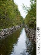 Купить «Соловецкие острова. Каналы между озерами.», фото № 1152040, снято 12 сентября 2009 г. (c) Михаил Ворожцов / Фотобанк Лори
