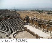 Греческий театр (2007 год). Стоковое фото, фотограф Вавилова Ольга / Фотобанк Лори