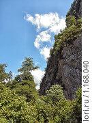 Купить «Горы Абхазии», фото № 1168040, снято 28 августа 2009 г. (c) Владимир Сергеев / Фотобанк Лори