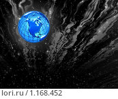 Купить «Космический  фон для дизайна», иллюстрация № 1168452 (c) ElenArt / Фотобанк Лори
