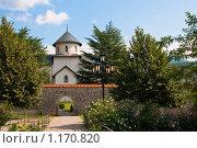Монастырь Морача (2009 год). Стоковое фото, фотограф Владимир Гарникян / Фотобанк Лори