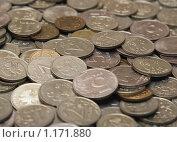 Купить «Куча монет, малая ГРИП», фото № 1171880, снято 24 октября 2009 г. (c) Цветков Виталий / Фотобанк Лори
