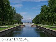 Петергофский пейзаж (2009 год). Редакционное фото, фотограф Антон Тимохин / Фотобанк Лори