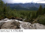 Купить «Водопад на реке Рисйок. Хибины», фото № 1174404, снято 31 июля 2009 г. (c) Охотникова Екатерина *Фототуристы* / Фотобанк Лори