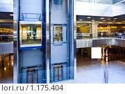 Купить «Лифты в деловом центре», фото № 1175404, снято 8 апреля 2009 г. (c) Бабенко Денис Юрьевич / Фотобанк Лори