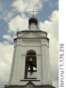 Колокольня церкви Св. Алексия, 1693 г., с. Середниково. (2009 год). Стоковое фото, фотограф Дмитрий Моисеевских / Фотобанк Лори