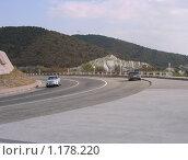Дорога по побережью Чёрного моря (2009 год). Редакционное фото, фотограф Елена Скопинцева / Фотобанк Лори