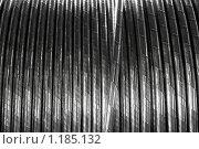 Купить «Силовой электрический кабель, фон», фото № 1185132, снято 25 августа 2009 г. (c) Vladimir Kolobov / Фотобанк Лори