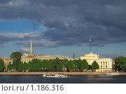 Вечер на набережной (2009 год). Стоковое фото, фотограф Антон Тимохин / Фотобанк Лори