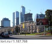 Купить «Москва, Кутузовский проспект», фото № 1187768, снято 5 сентября 2009 г. (c) Neta / Фотобанк Лори