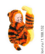 Купить «Девочка - тигренок», фото № 1188132, снято 2 ноября 2009 г. (c) Ирина Солошенко / Фотобанк Лори