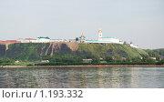 Купить «Тобольск, вид на Кремль и реку Иртыш из деревни Бекерево», фото № 1193332, снято 7 июля 2009 г. (c) Владимир Горощенко / Фотобанк Лори