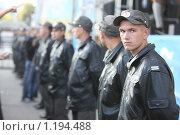 Милицейский кордон (2009 год). Редакционное фото, фотограф Андрей Варенков / Фотобанк Лори
