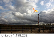 Купить «Факел низкого давления», фото № 1198232, снято 27 сентября 2009 г. (c) Мишарин Алексей / Фотобанк Лори