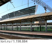 Купить «Платформа киевского вокзала», фото № 1198884, снято 5 сентября 2009 г. (c) Neta / Фотобанк Лори