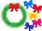 Рождественские гирлянды, иллюстрация № 1200340 (c) Юрий Брыкайло / Фотобанк Лори