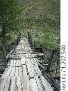 Купить «Старый мост», фото № 1207540, снято 9 августа 2008 г. (c) Анна Омельченко / Фотобанк Лори