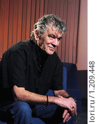 """Купить «Дэн МакКафферти, группа """"Назарет"""". Dan McCafferty, rock band Nazareth», фото № 1209448, снято 1 ноября 2009 г. (c) Чернышева Лариса / Фотобанк Лори"""