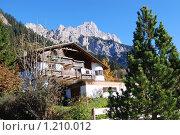 В Альпах, Австрия (2009 год). Стоковое фото, фотограф Владимир Горев / Фотобанк Лори