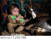 Купить «Однажды в чуме», фото № 1210768, снято 24 августа 2006 г. (c) Вадим Морозов / Фотобанк Лори