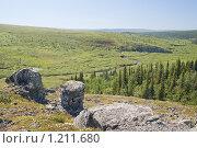 Купить «Уральская долина», фото № 1211680, снято 12 июля 2009 г. (c) Надежда Болотина / Фотобанк Лори