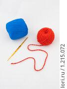 Вязание. Стоковое фото, фотограф Алексей Головин / Фотобанк Лори