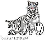 Купить «Год тигра 2010», иллюстрация № 1219244 (c) Галина Щурова / Фотобанк Лори