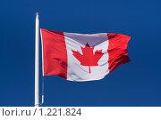 Купить «Флаг Канады», фото № 1221824, снято 22 мая 2009 г. (c) Петр Кириллов / Фотобанк Лори