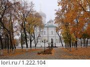 Купить «Благовещенский кафедральный собор, Воронеж», фото № 1222104, снято 18 октября 2009 г. (c) Евгения Самбурцева / Фотобанк Лори
